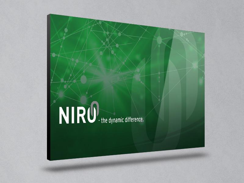 Referenz Erstellung PowerPoint NIRO, Unna