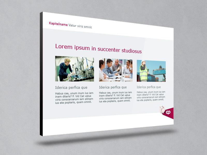 Referenz Erstellung PowerPoint onepower, Unna