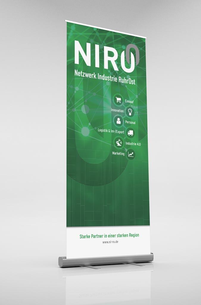 Referenz Erstellung Roll Up NIRO, Unna