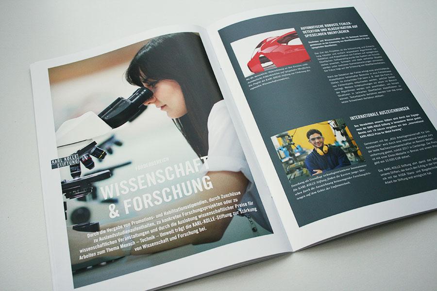 Referenz Erstellung Broschüre Karl Kolle, Dortmund