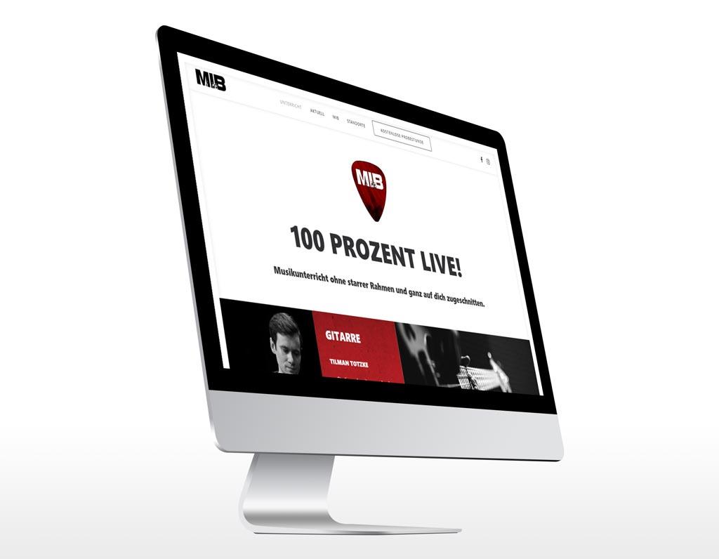 Referenz Erstellung WordPress Webseite MIB, Gelsenkirchen