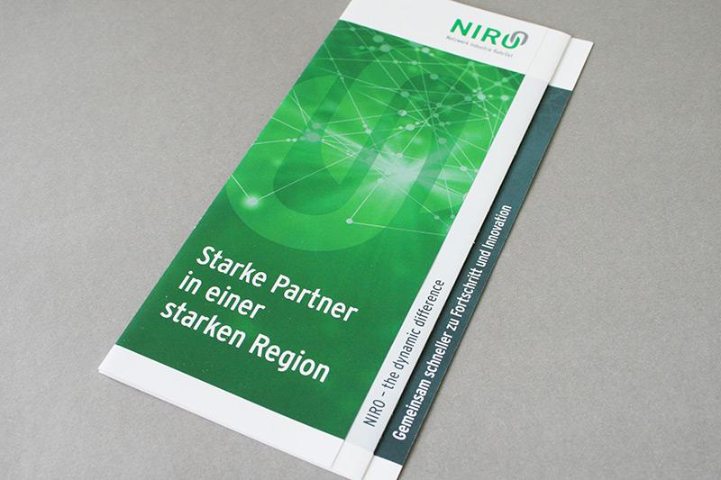 Referenz Erstellung Folder NIRO, Unna