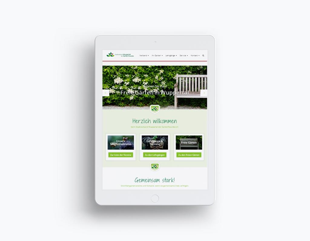 Referenz Erstellung TYPO3 Webseite SV-Wuppertal
