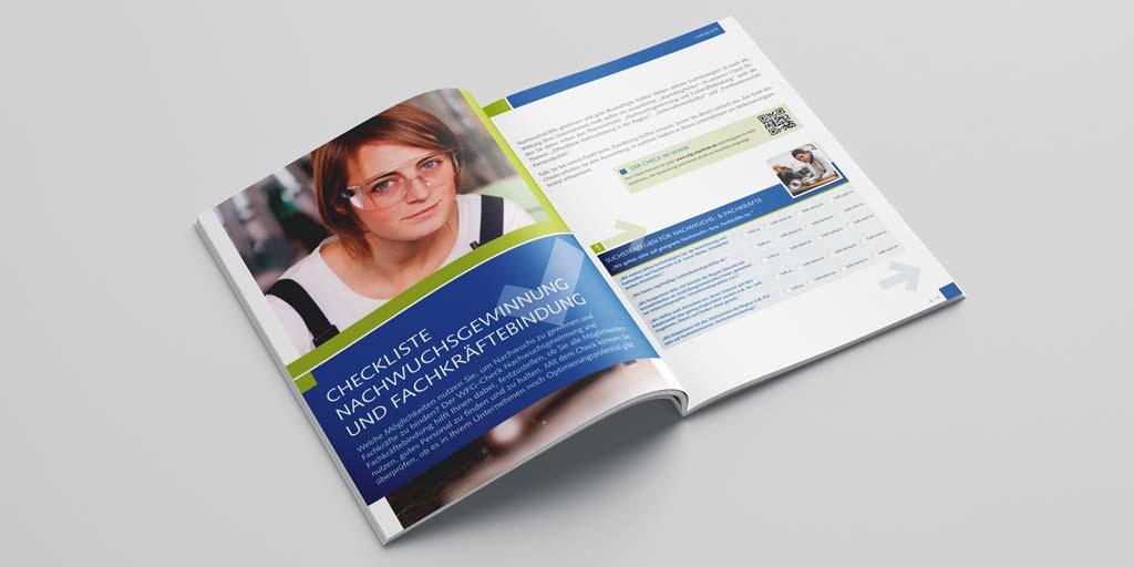Referenz Erstellung Broschüre STWB, Unna