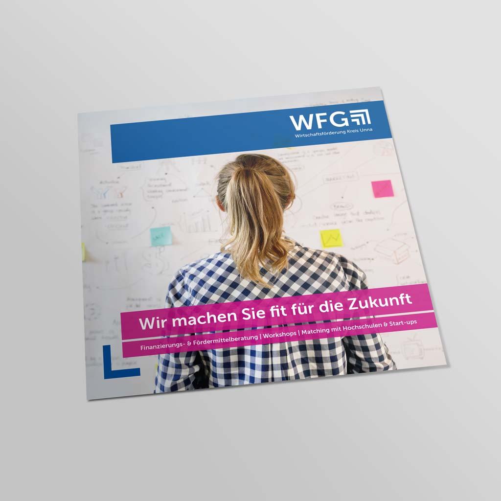 Referenz Erstellung Folder WFG, Unna