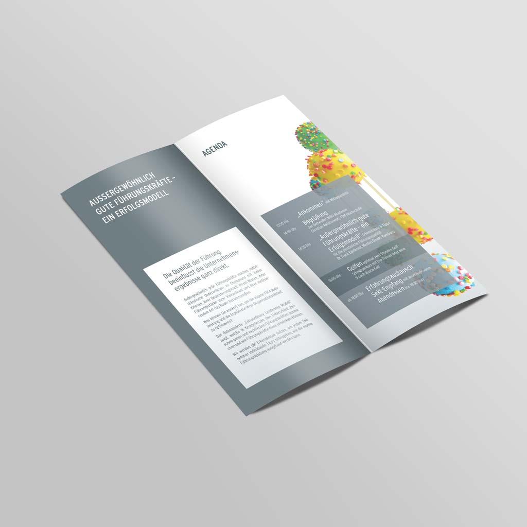 Referenz Erstellung Folder NIRO-Akademie, Unna