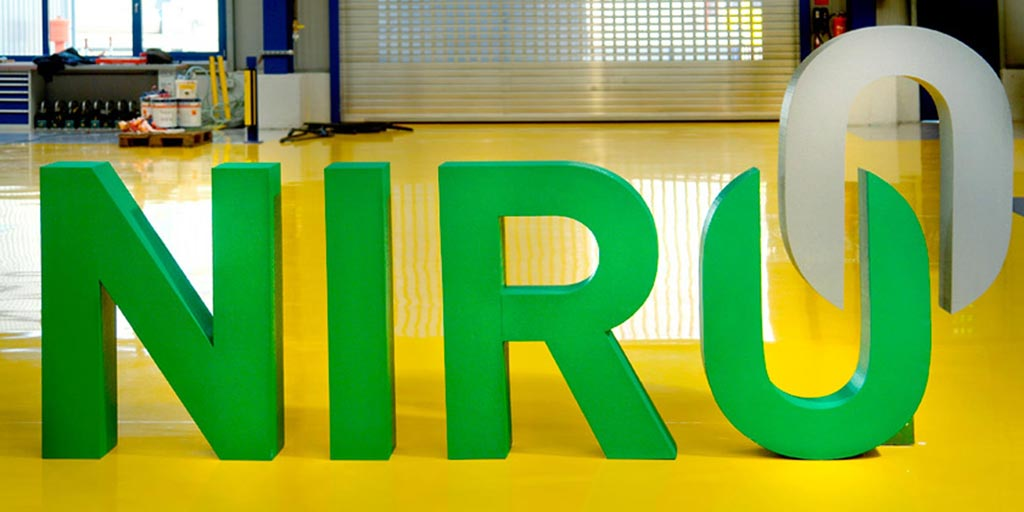 Referenz Erstellung Logo NIRO, Unna