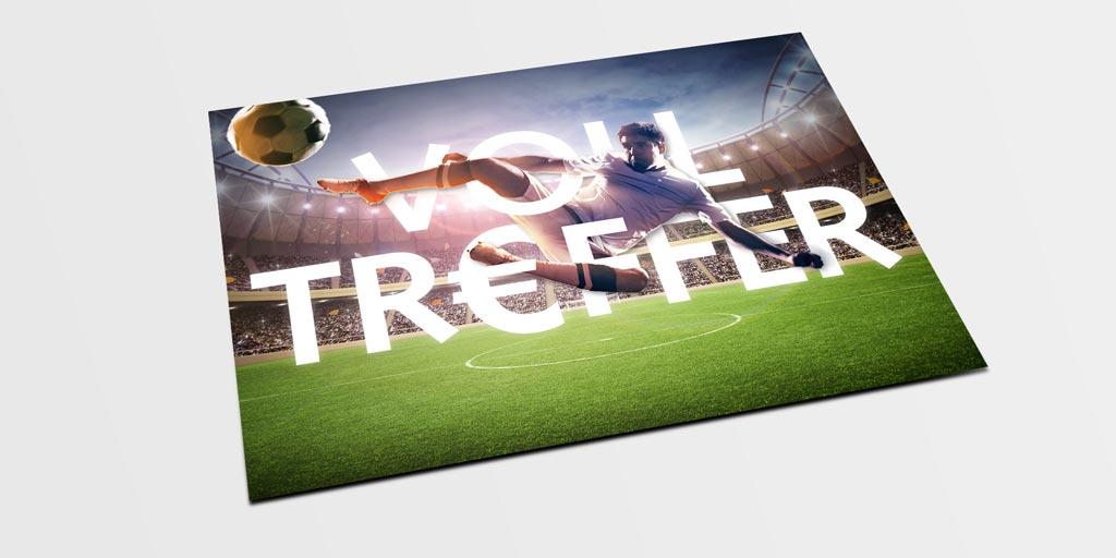 Referenz Erstellung Postkarte WFG, Unna