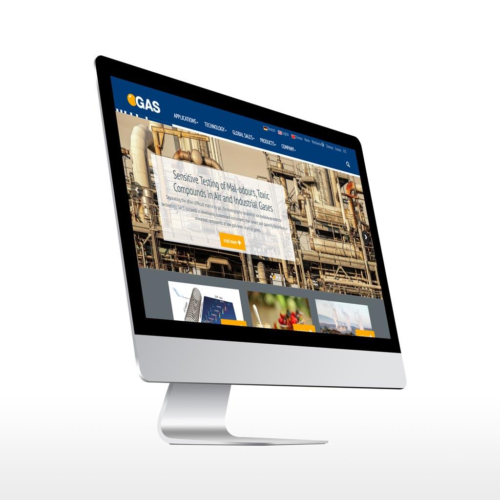 Referenz Erstellung Webdesign Gas Dortmund