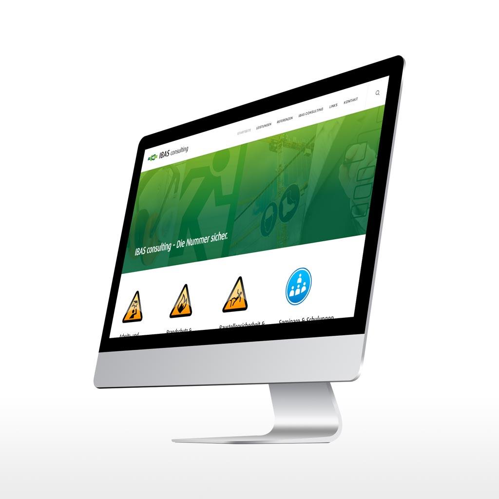 Referenz Erstellung WordPress Webseite IBAS, Wuppertal