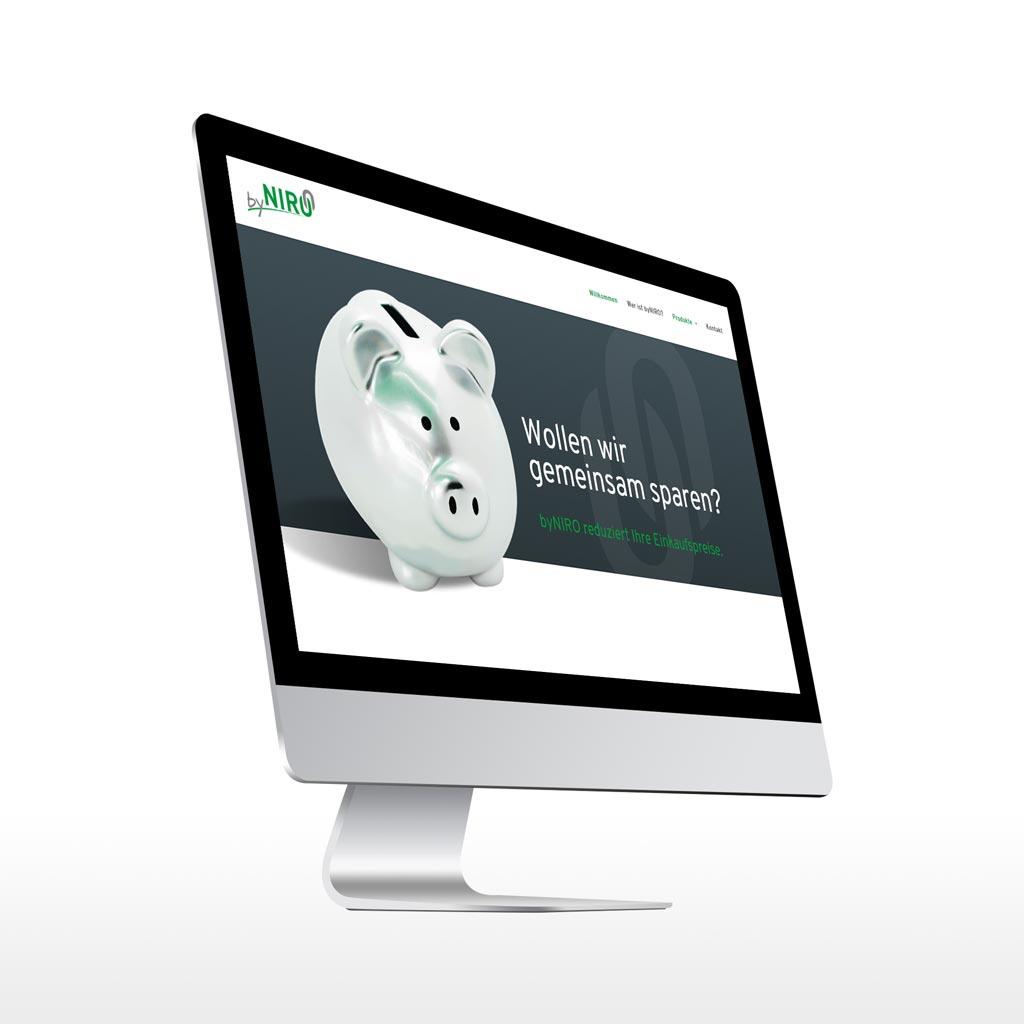 Referenz Erstellung WordPress Webseite byNIRO, Unna